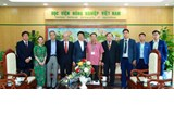 Congressman Yoichiro Aoyagi and Japanese delegation to visit and work at Vietnam National University of Agriculture