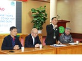 "International conference on ""Vietnam's agricultural production and cooperation opportunities between Vietnam and China"""