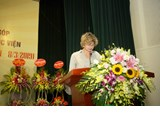 Speech by Mrs. Elsbeth Akkerman - Ambassador of the Embassy of the Kingdom of the Netherlands at the Recognition Ceremony for Organizations and Individuals' Notable Contribution to VNUA's Development